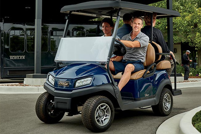 Club Car para transporte de personal