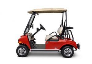 carrito de golf para entregas de mercancias